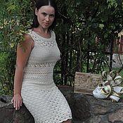 Одежда handmade. Livemaster - original item Silk crocheted dress