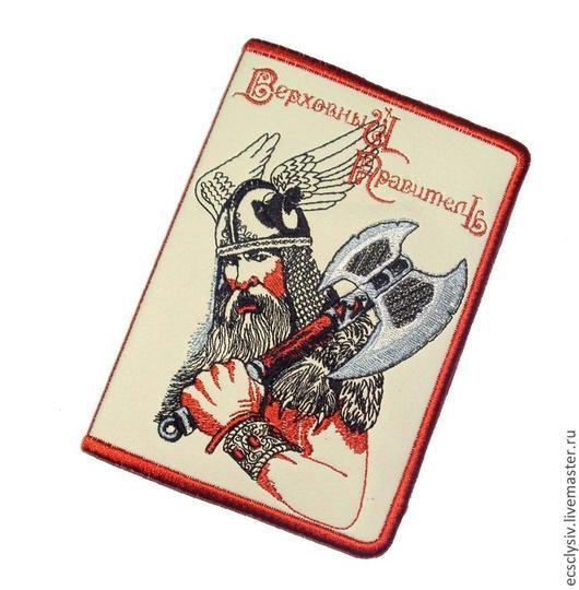 """Обложки ручной работы. Ярмарка Мастеров - ручная работа. Купить Обложка для паспорта """" Викинг """". Handmade. Паспорт"""