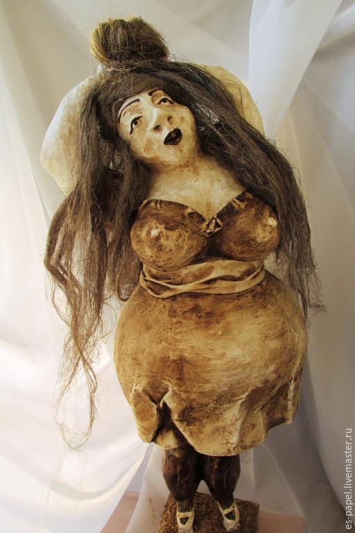 Коллекционные куклы ручной работы. Ярмарка Мастеров - ручная работа. Купить Дульсинея. Handmade. Интерьерная кукла, толстушка