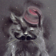 """Фантазийные сюжеты ручной работы. Ярмарка Мастеров - ручная работа. Купить Картина пастелью """"Кот Стамбул"""". Handmade. Кот, картина"""