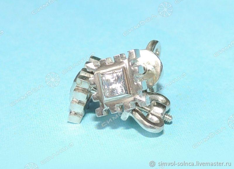 Earrings, Pusey Agrimony Happiness (jewel), Folk decorations, Sochi,  Фото №1