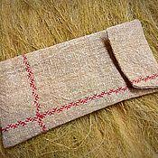 Case handmade. Livemaster - original item Case - a talisman for the phone from the nettle of domotkan.. Handmade.