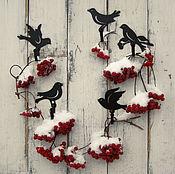 Для дома и интерьера ручной работы. Ярмарка Мастеров - ручная работа Крючки металлические Птички - невелички. Handmade.