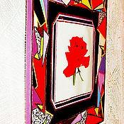 """Картины и панно ручной работы. Ярмарка Мастеров - ручная работа Панно """"Роза"""". Handmade."""