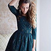 Одежда ручной работы. Ярмарка Мастеров - ручная работа Пышное платье из кружева. Handmade.