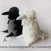 Куклы и игрушки ручной работы. Ярмарка Мастеров - ручная работа Ворона и ее Альтер Эго. Handmade.