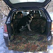 Для домашних животных, ручной работы. Ярмарка Мастеров - ручная работа Автогамак в багажник. Handmade.