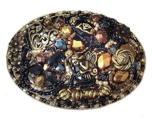 """Брошь из  моей новой осенней коллекции """"Сумерки"""". Часть коллекции находится во втором моём магазине на Ярмарке мастеров. http://www.livemaster.ru/radost?cid=12976&view=profile"""