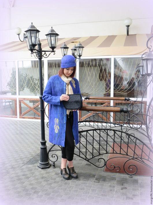 Верхняя одежда ручно работы. Ярмарка Мастеров - ручная работа. Купить авторское валяное пальто `EGO`. Handmade.