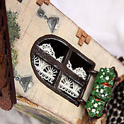 Для дома и интерьера handmade. Livemaster - original item Tea house with attached garden. Handmade.