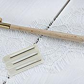 Инструменты для вышивки ручной работы. Ярмарка Мастеров - ручная работа Люневильский крючок + 3 иглы. Handmade.