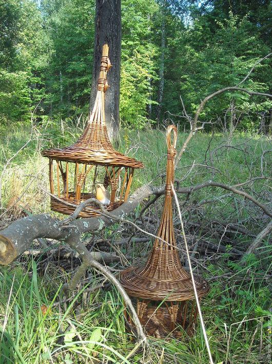 Для других животных, ручной работы. Ярмарка Мастеров - ручная работа. Купить Кормушки для белочек и птичек плетеные. Handmade.