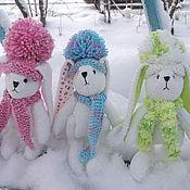 Куклы и игрушки ручной работы. Ярмарка Мастеров - ручная работа Зайчата. Handmade.