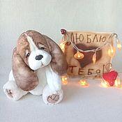 Куклы и игрушки handmade. Livemaster - original item Puppy Teddy Cupid. Handmade.