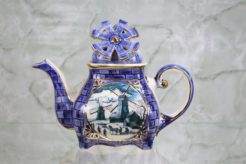 Картинки заварочных чайников декупаж