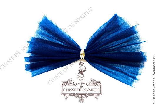Шитье ручной работы. Ярмарка Мастеров - ручная работа. Купить Фатин, адмиральский синий (admiral blue), KRST-1046. Handmade.