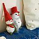 Коллекционные куклы ручной работы. Снеговик. ShihovaNatalia. Интернет-магазин Ярмарка Мастеров. Подарок, новогодний подарок, зима, белый
