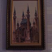 Картины и панно ручной работы. Ярмарка Мастеров - ручная работа Мечеть Кул-Шариф. Handmade.