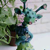 Шарнирная кукла ручной работы. Ярмарка Мастеров - ручная работа Синенький Ися авторская кукла. Handmade.