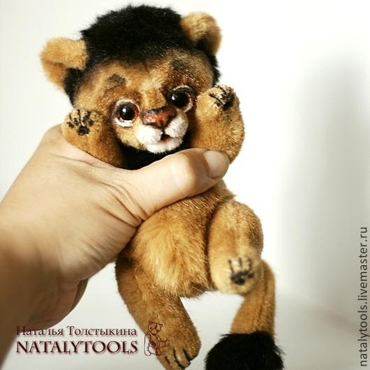 Мишки Тедди ручной работы. Ярмарка Мастеров - ручная работа. Купить Львенок. Коллекционная игрушка тедди лев. Handmade. Игрушка