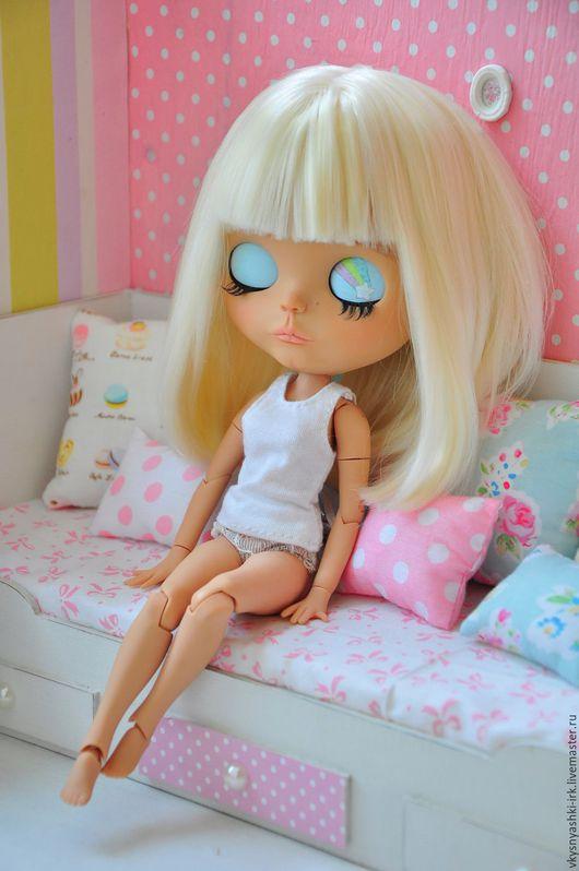 Коллекционные куклы ручной работы. Ярмарка Мастеров - ручная работа. Купить Продана!! Custom Blythe OOAK Sweet Pastel Doll. Handmade.