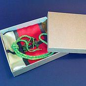 Сувениры и подарки ручной работы. Ярмарка Мастеров - ручная работа Коробочка 10х10х2 см из микрогофрокартона. Handmade.