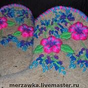 """Обувь ручной работы. Ярмарка Мастеров - ручная работа Валенки """"Вереск"""". Handmade."""