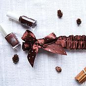 Украшения ручной работы. Ярмарка Мастеров - ручная работа повязка Шоколад резерв. Handmade.