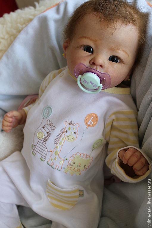 Куклы-младенцы и reborn ручной работы. Ярмарка Мастеров - ручная работа. Купить Кукла-реборн Анди из молда Andi от Linda Murrey. Handmade.