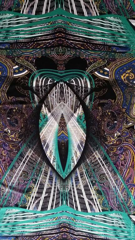 Jersey 'Shambala', Fabric, Moscow,  Фото №1
