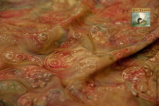 """Шитье ручной работы. Ярмарка Мастеров - ручная работа. Купить 100% хлопок, Индонезия """"Балийские одежды. Пейсли"""". Handmade. Ткань"""