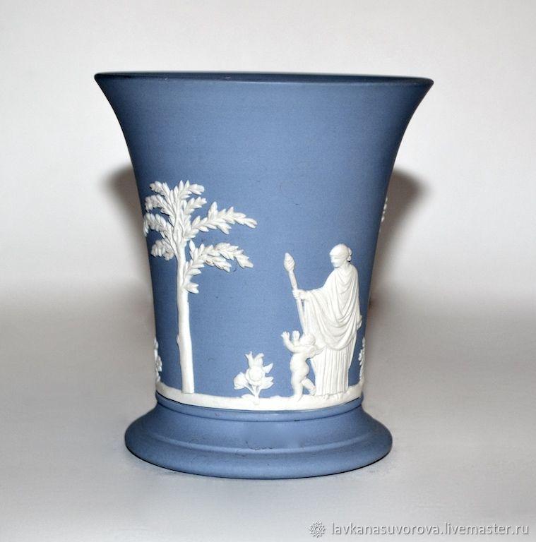 Vase Vase Wedgwood Jasper China Shop Online On Livemaster With