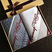 Аксессуары handmade. Livemaster - original item Handkerchiefs men`s Luxury embroidered Monogram. Handmade.