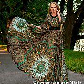"""Одежда ручной работы. Ярмарка Мастеров - ручная работа """"Великолепный Век"""" Платье из шалей в Восточном стиле. Handmade."""