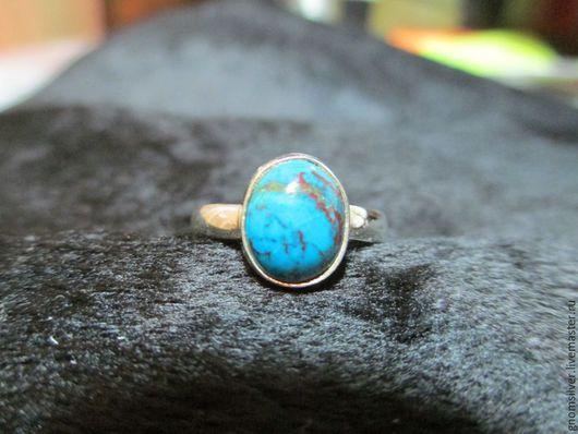Кольца ручной работы. Ярмарка Мастеров - ручная работа. Купить Уникальное авторское кольцо с хризоколлой из Чили. Handmade. хризоколла натуральная