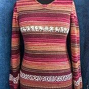 Одежда ручной работы. Ярмарка Мастеров - ручная работа любимый свитер. Handmade.