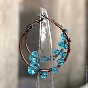 "Украшения handmade. Livemaster - original item Earrings ""Azure"". Handmade."
