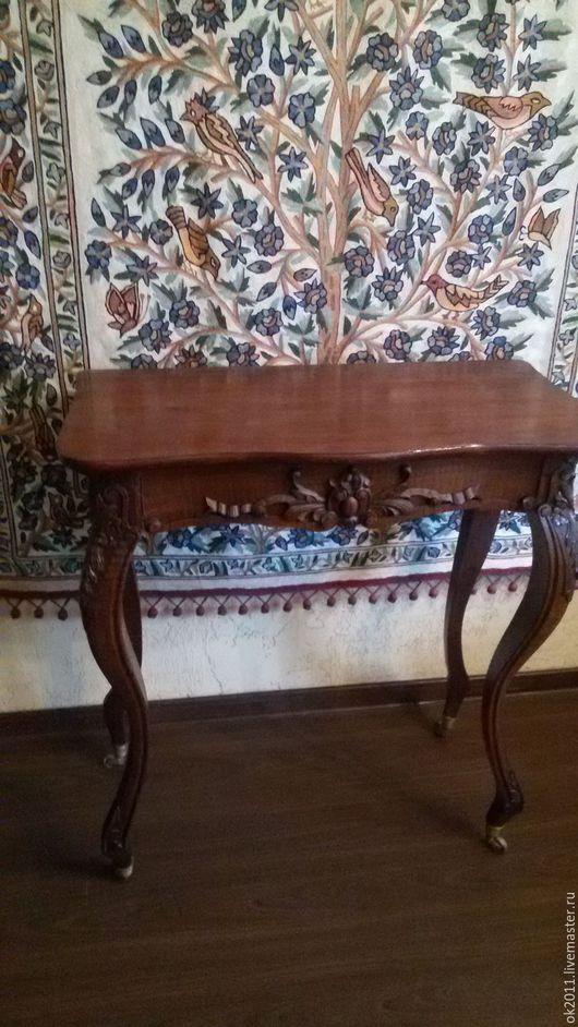 Мебель ручной работы. Ярмарка Мастеров - ручная работа. Купить Столик-консоль антикварный. Handmade. Реставрация, антиквариат, классический интерьер
