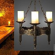 """Для дома и интерьера ручной работы. Ярмарка Мастеров - ручная работа Люстра """"Амелия 240-93"""", 3 рожка (Русские фонари). Handmade."""
