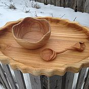 Посуда ручной работы. Ярмарка Мастеров - ручная работа Авторская деревянная посуда. Handmade.