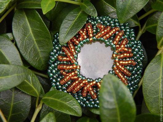 """Кольца ручной работы. Ярмарка Мастеров - ручная работа. Купить Кольцо """"Таинственный лес"""". Handmade. Тёмно-зелёный, украшения с камнями"""