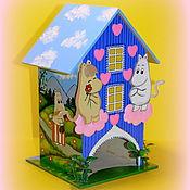 """Для дома и интерьера ручной работы. Ярмарка Мастеров - ручная работа Чайный домик """"Муми дом"""". Handmade."""