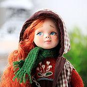 Куклы и игрушки handmade. Livemaster - original item Author`s doll Marusya (little fashionista). Handmade.