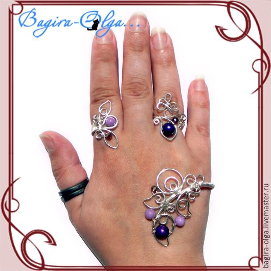 наладонный браслет с кольцом, Фаланговое кольцо, Москва,  Фото №1
