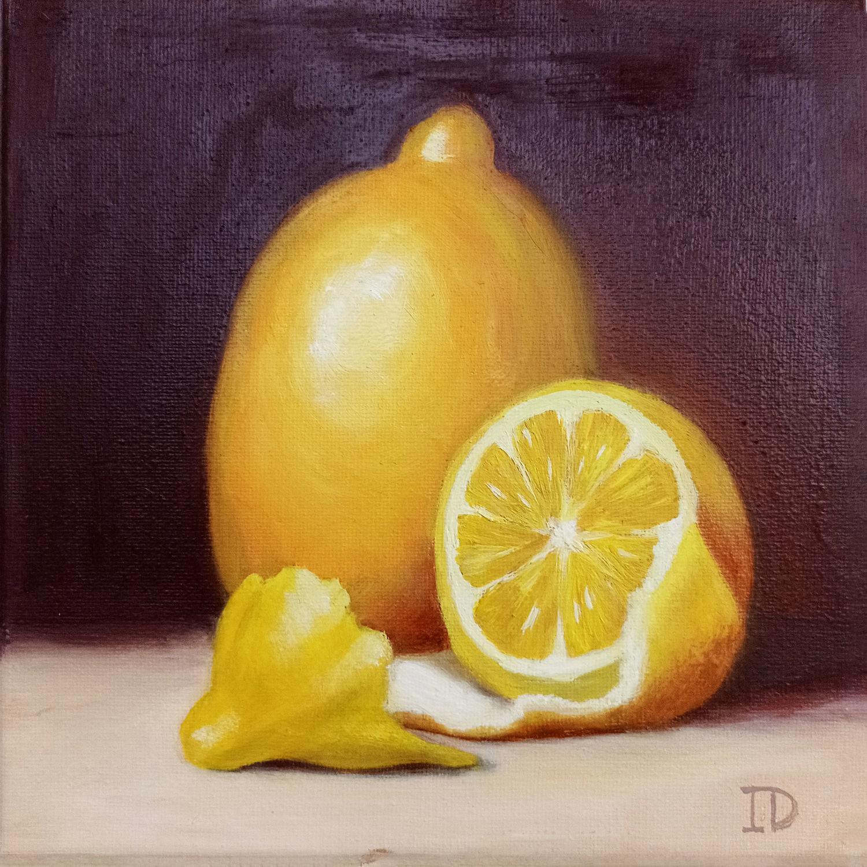 Благородный лимон, Картины, Азов,  Фото №1