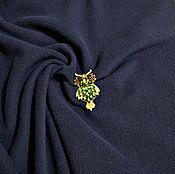 Материалы для творчества ручной работы. Ярмарка Мастеров - ручная работа Ткань Флис тёмно-синий. Handmade.