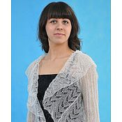 Одежда handmade. Livemaster - original item 27 Bolero white downy Tenderness, apparel, shrug, pull. Handmade.