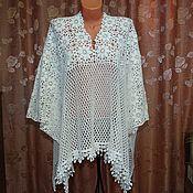 """Одежда ручной работы. Ярмарка Мастеров - ручная работа Пончо"""" Мисс Шарм"""". Handmade."""