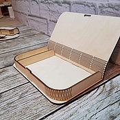 Упаковочная коробка ручной работы. Ярмарка Мастеров - ручная работа Коробка подарочная с гравировкой, сувенир. Handmade.