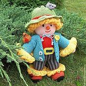 Куклы и игрушки ручной работы. Ярмарка Мастеров - ручная работа Вязаная кукла из шерсти  Мужичок-лесовичок. Handmade.